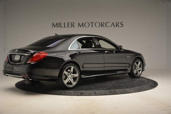 Used 2014 Mercedes Benz S-Class S 63 AMG for sale Sold at Maserati of Greenwich in Greenwich CT 06830 8