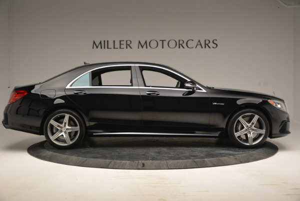 Used 2014 Mercedes Benz S-Class S 63 AMG for sale Sold at Maserati of Greenwich in Greenwich CT 06830 9