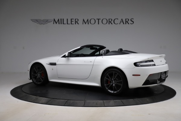 New 2015 Aston Martin Vantage GT GT Roadster for sale Sold at Maserati of Greenwich in Greenwich CT 06830 3