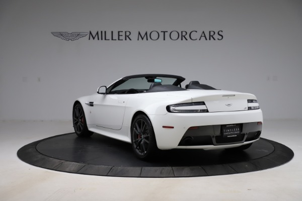 New 2015 Aston Martin Vantage GT GT Roadster for sale Sold at Maserati of Greenwich in Greenwich CT 06830 4