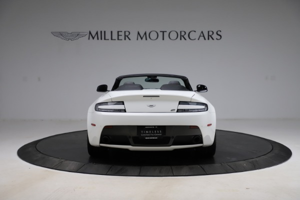 New 2015 Aston Martin Vantage GT GT Roadster for sale Sold at Maserati of Greenwich in Greenwich CT 06830 5