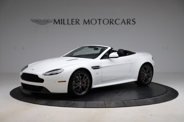 New 2015 Aston Martin Vantage GT GT Roadster for sale Sold at Maserati of Greenwich in Greenwich CT 06830 1