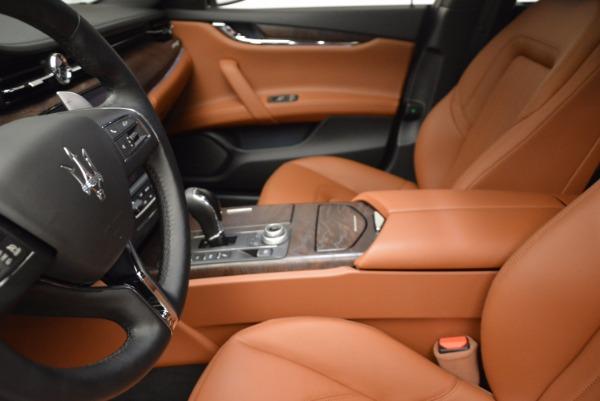 New 2017 Maserati Quattroporte SQ4 for sale Sold at Maserati of Greenwich in Greenwich CT 06830 14