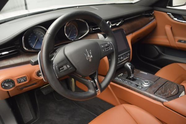 New 2017 Maserati Quattroporte SQ4 for sale Sold at Maserati of Greenwich in Greenwich CT 06830 15