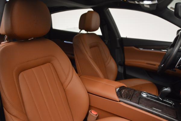 New 2017 Maserati Quattroporte SQ4 for sale Sold at Maserati of Greenwich in Greenwich CT 06830 20
