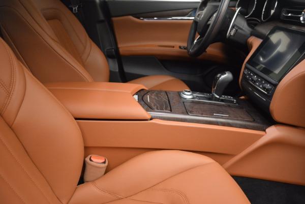 New 2017 Maserati Quattroporte SQ4 for sale Sold at Maserati of Greenwich in Greenwich CT 06830 21