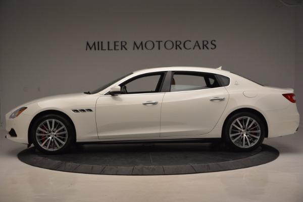 New 2017 Maserati Quattroporte SQ4 for sale Sold at Maserati of Greenwich in Greenwich CT 06830 3