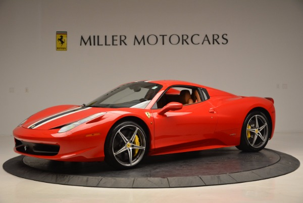 Used 2014 Ferrari 458 Spider for sale Sold at Maserati of Greenwich in Greenwich CT 06830 14