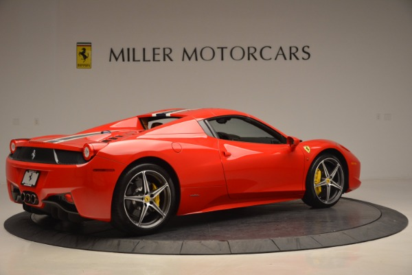 Used 2014 Ferrari 458 Spider for sale Sold at Maserati of Greenwich in Greenwich CT 06830 20