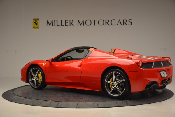 Used 2014 Ferrari 458 Spider for sale Sold at Maserati of Greenwich in Greenwich CT 06830 4