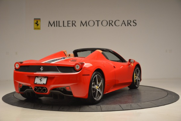 Used 2014 Ferrari 458 Spider for sale Sold at Maserati of Greenwich in Greenwich CT 06830 7