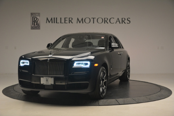 New 2017 Rolls-Royce Ghost Black Badge for sale Sold at Maserati of Greenwich in Greenwich CT 06830 1
