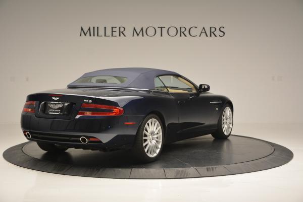 Used 2007 Aston Martin DB9 Volante for sale Sold at Maserati of Greenwich in Greenwich CT 06830 19