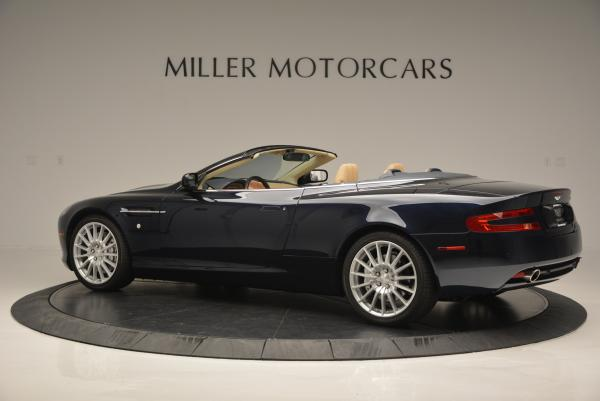 Used 2007 Aston Martin DB9 Volante for sale Sold at Maserati of Greenwich in Greenwich CT 06830 4