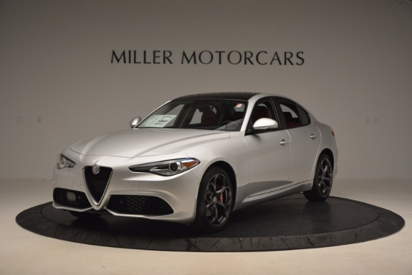 New 2017 Alfa Romeo Giulia Ti Q4 for sale Sold at Maserati of Greenwich in Greenwich CT 06830 3