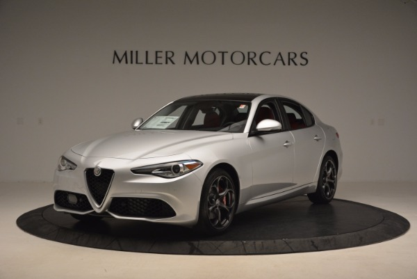 New 2017 Alfa Romeo Giulia Ti Q4 for sale Sold at Maserati of Greenwich in Greenwich CT 06830 4