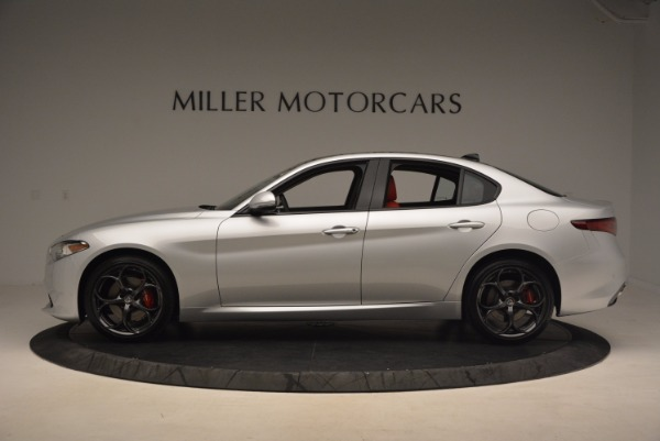 New 2017 Alfa Romeo Giulia Ti Q4 for sale Sold at Maserati of Greenwich in Greenwich CT 06830 5