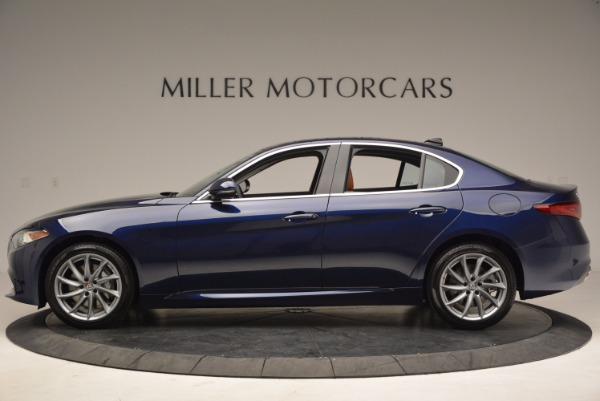 New 2017 Alfa Romeo Giulia Q4 for sale Sold at Maserati of Greenwich in Greenwich CT 06830 3