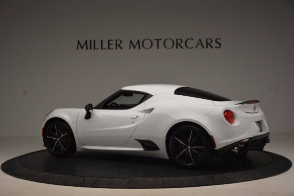 New 2016 Alfa Romeo 4C Coupe for sale Sold at Maserati of Greenwich in Greenwich CT 06830 4