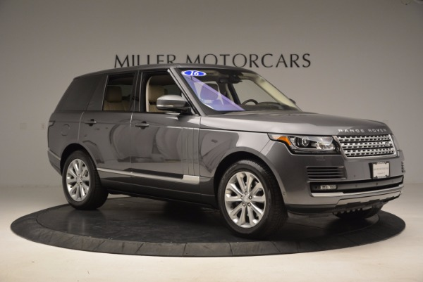 Used 2016 Land Rover Range Rover HSE TD6 for sale Sold at Maserati of Greenwich in Greenwich CT 06830 10