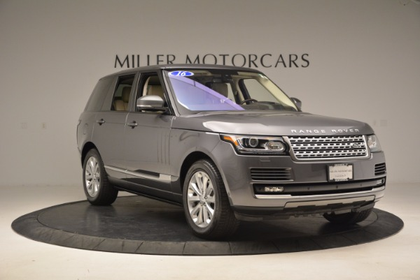 Used 2016 Land Rover Range Rover HSE TD6 for sale Sold at Maserati of Greenwich in Greenwich CT 06830 11
