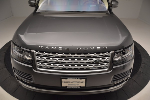 Used 2016 Land Rover Range Rover HSE TD6 for sale Sold at Maserati of Greenwich in Greenwich CT 06830 13