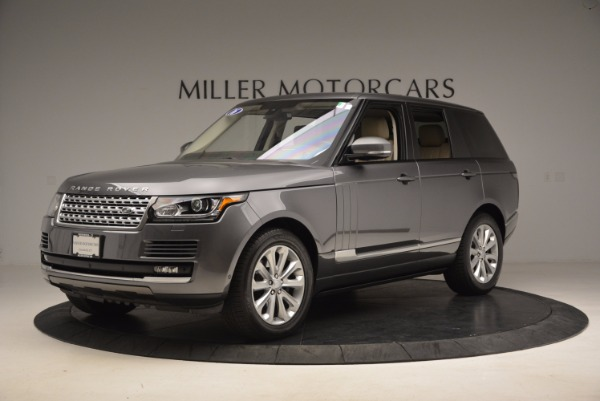 Used 2016 Land Rover Range Rover HSE TD6 for sale Sold at Maserati of Greenwich in Greenwich CT 06830 2