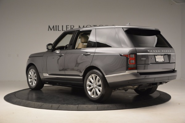 Used 2016 Land Rover Range Rover HSE TD6 for sale Sold at Maserati of Greenwich in Greenwich CT 06830 4