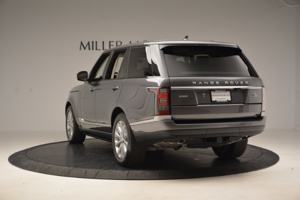 Used 2016 Land Rover Range Rover HSE TD6 for sale Sold at Maserati of Greenwich in Greenwich CT 06830 5
