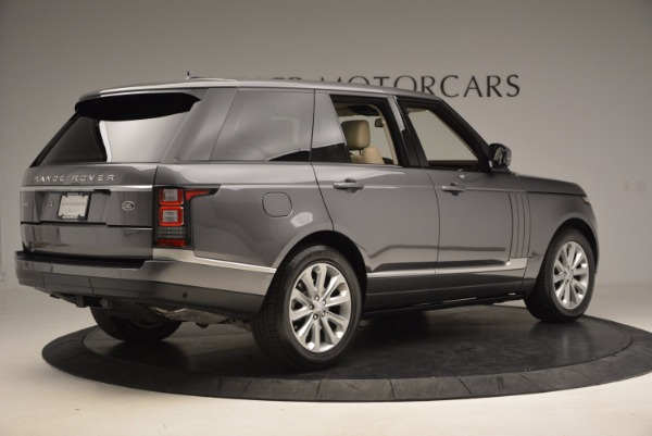 Used 2016 Land Rover Range Rover HSE TD6 for sale Sold at Maserati of Greenwich in Greenwich CT 06830 8