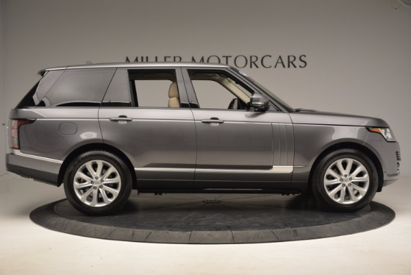 Used 2016 Land Rover Range Rover HSE TD6 for sale Sold at Maserati of Greenwich in Greenwich CT 06830 9