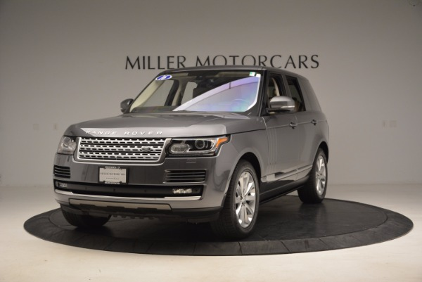 Used 2016 Land Rover Range Rover HSE TD6 for sale Sold at Maserati of Greenwich in Greenwich CT 06830 1